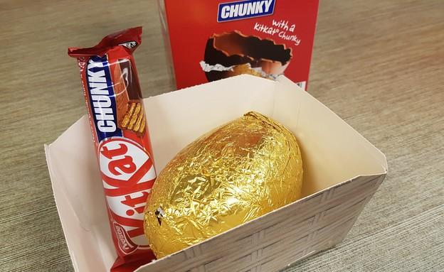 ביצת שוקולד קיט קט (צילום: גיל גוטקין, אוכל טוב)