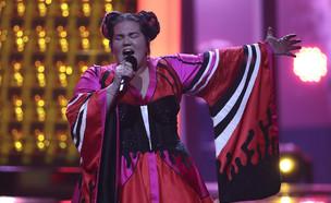 נטע ברזילי באירוויזיון (צילום: Carlos Rodrigues / Stringer, GettyImages)