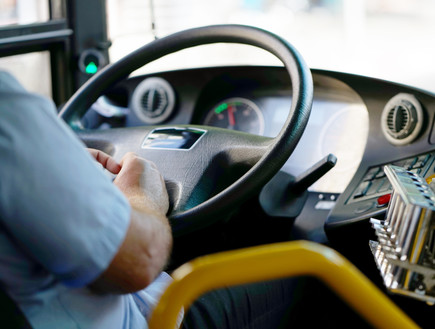 הגה של אוטובוס