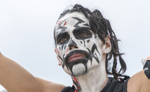 ג'אגלו - מעריץ של הרכב ההיפ-הופ Insane Clown Posse (צילום: Photo_Grapher, shutterstock)