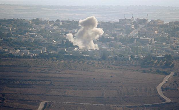 זליגות מהמלחמה בסוריה, ארכיון (צילום: החדשות)
