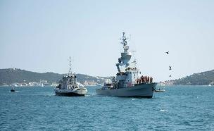 """צפו: חיל הים בתרגיל משותף בצרפת (צילום: דובר צה""""ל, חדשות)"""