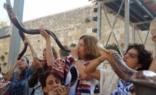 הועברו הסמכויות,  נשות הכותל (ארכיון) (צילום: אושרת בן שמשון, חדשות)