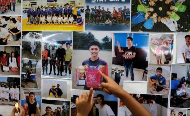 תמונות הנערים שנלכדו