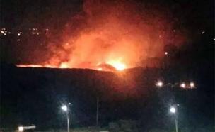 תקיפה בדמשק. ארכיון (צילום: חדשות)