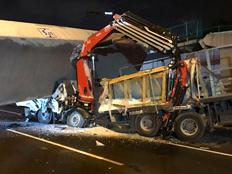 72 גשרים בסכנת קריסה (צילום: דוברות אגף התנועה במשטרה, חדשות)