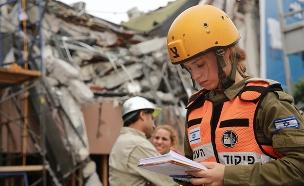 הכתובת על הקיר: מחדל רעידות האדמה (צילום: משרד החוץ, חדשות)