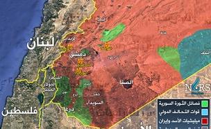 תקיפות ישראל בסוריה לפי סוריה (צילום: חדשות)