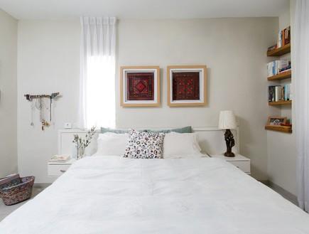 קריית חיים, עיצוב דניאלה גלבוע, חדר שינה