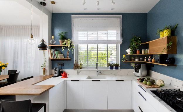 קריית חיים, עיצוב דניאלה גלבוע, מטבח (צילום: שירן כרמל)