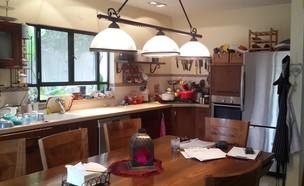 עמק האלה, עיצוב ליאת בני פלד, מטבח לפני השיפוץ  (צילום: ליאת בני פלד)
