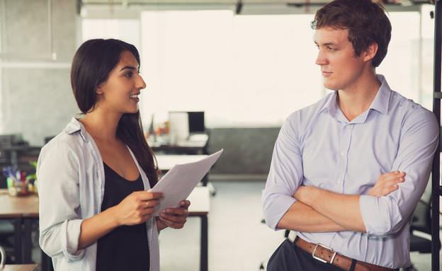 עובדים במשרד (צילום: kateafter | Shutterstock.com )