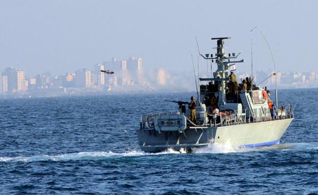 """חיל הים בעזה (ארכיון) (צילום: דובר צה""""ל, חדשות)"""