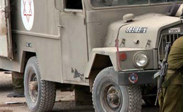 אמבולנס צבאי (ארכיון) (צילום: רויטרס, חדשות)