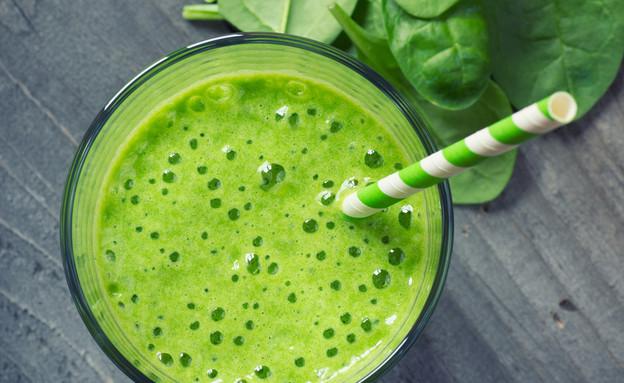 שייק ירוק (צילום: Lecic, Shutterstock)