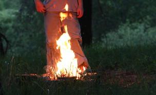 מכנסיים על האש (צילום: shutterstock   Mamziolzi)