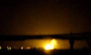 תקיפה בסוריה. ארכיון (צילום: חדשות)