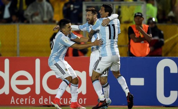נבחרת ארגנטינה. לא יגיעו ארצה (צילום: רויטרס, חדשות)