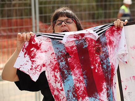 ההפגנות נגד נבחרת ארגנטינה