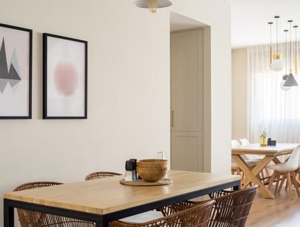 פנטהאוז בגבעתיים, עיצוב דניאלה דנור, מטבח - 6 (צילום: יואב פלד)