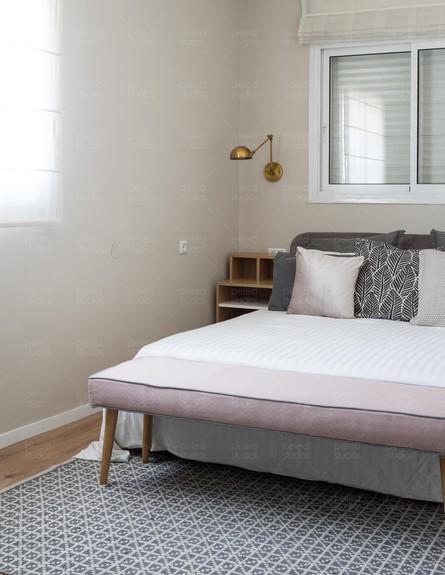 פנטהאוז בגבעתיים, ג, עיצוב דניאלה דנור, חדר שינה - 3 (צילום: יואב פלד)