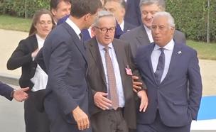 תיעוד: נשיא האיחוד האירופי השיכור (צילום: AP, חדשות)