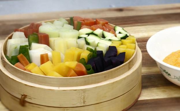 ירקות, רותי רוסו (תמונת AVI: מבשלים עם קשת - רותי רוסו)