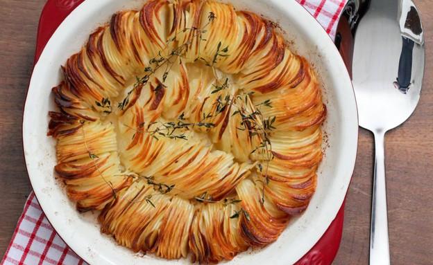 """מאפה תפוחי אדמה פריך (צילום: עידית נרקיס כ""""ץ, אוכל טוב)"""