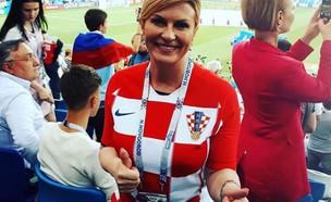 נשיאת קרואטיה (צילום: צילום מסך: tn.com.ar)