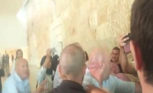"""תיעוד: הדיון בבג""""ץ פוצץ, מהומה אלימה פרצה (צילום: החדשות)"""