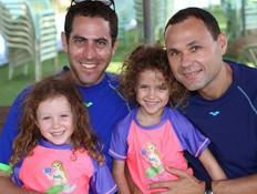 גיא ברנט-יצחקי ומשפחתו (צילום: באדיבות המצולם)