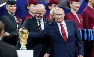 המנצח הגדול של המונדיאל: פוטין (צילום: AP, חדשות)