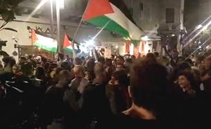 למרות העימותים - המפגינים לא יואשמו? (צילום: חדשות)