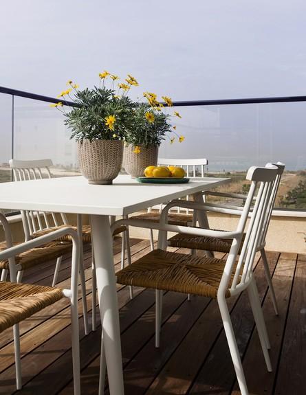 דירה ליד הים, ג, עיצוב מיה ורונית, מרפסת (צילום: שירן כרמל)