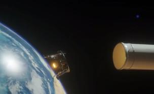 """החללית הישראלית המכוערת במירוץ לחלל (צילום: מתוך """"נקסט"""", קשת 12)"""