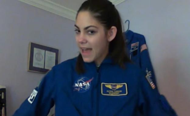 """ראיון בלעדי: בת 17 באימונים לחלל (צילום: מתוך """"נקסט"""", קשת 12)"""