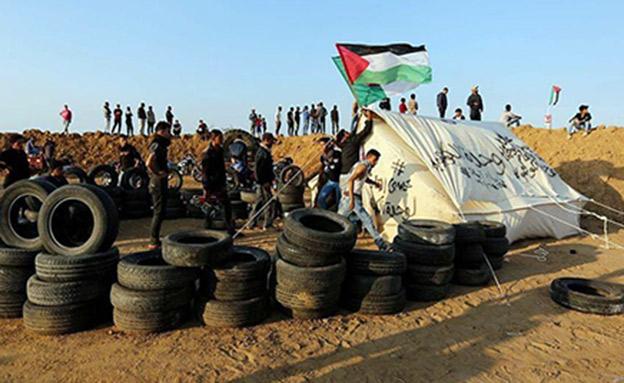 שוב: הפרות סדר סמוך לגבול (צילום: חדשות)