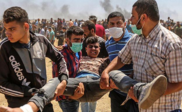 שיפור כלכלי יוביל ליציבות, פלסטינים בעזה (צילום: SKY NEWS, חדשות)