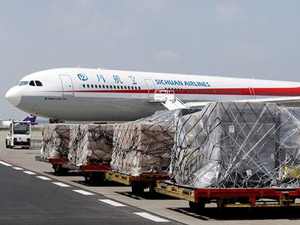 סצ'ואן איירליינס בדרך לישראל (צילום: רוייטרס, חדשות)