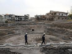 """צה""""ל סייע בחילוץ מאות מדרום סוריה (צילום: רויטרס)"""