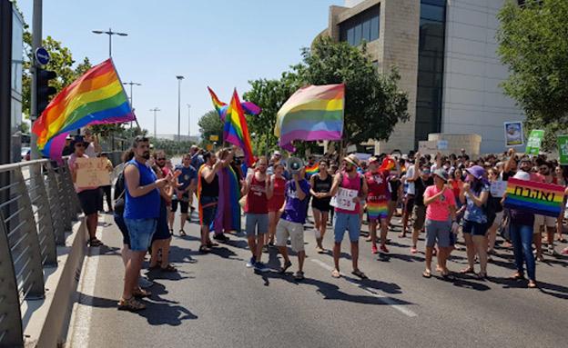 הפגנות ברחבי הארץ (צילום: דניאל ג'ונס, חדשות)