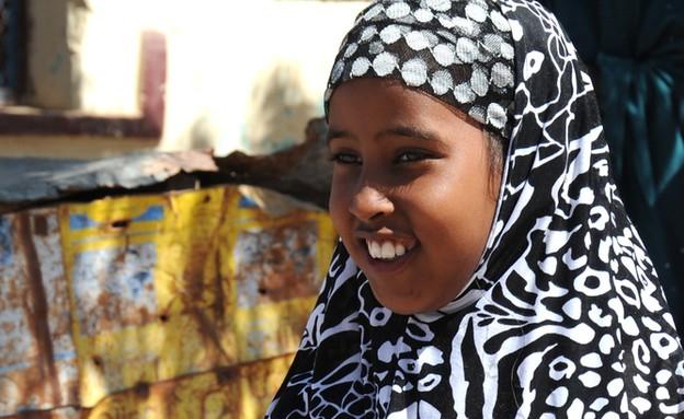 נערה סומלית (צילום: Free Wind 2014, shutterstock)