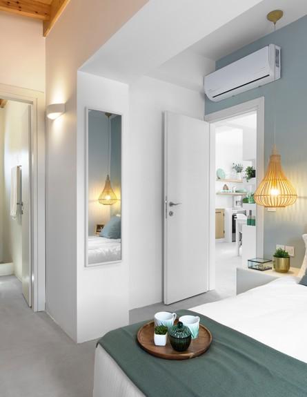 וילה בלפקאדה, ג, עיצוב סיגל סיוון ידוב, חדר שינה (10) (צילום: טל ניסים)