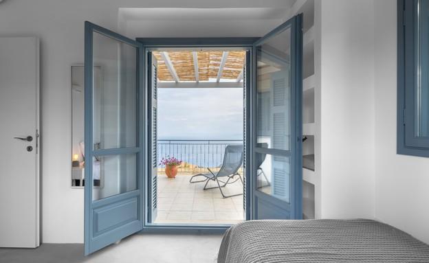 וילה בלפקאדה, עיצוב סיגל סיוון ידוב, חדר שינה 2 (17) (צילום: טל ניסים)