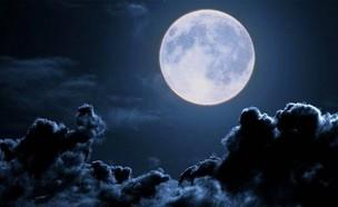 ירח בשמיים (צילום: Twitter/TheInspiredLife)