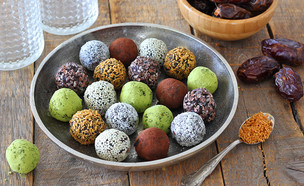 כדורי תמרים (צילום: ענבל לביא, אוכל טוב)