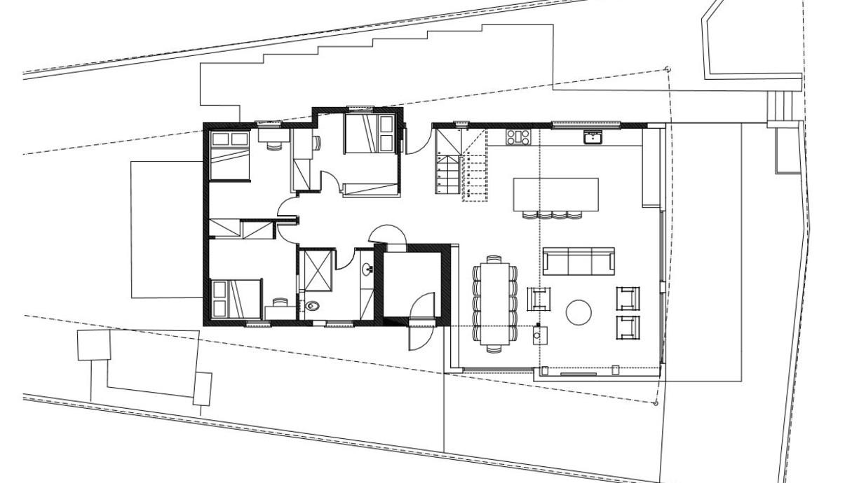 עמק האלה, עיצוב ליאת בני פלד, ,תוכנית אדריכלית