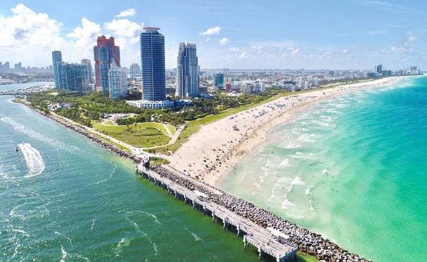 חופי מיאמי (צילום: מתוך עמוד הפייסבוק של Sir Kaick, Miami Feelings)