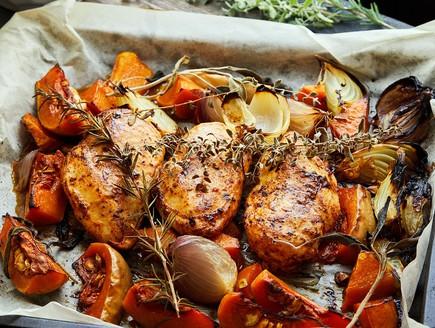 חזה עוף וירקות (צילום: אמיר מנחם, אוכל טוב)