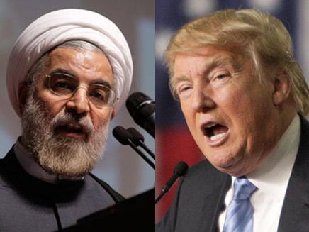 ממשיכים לשגר איומים. טראמפ ורוחאני